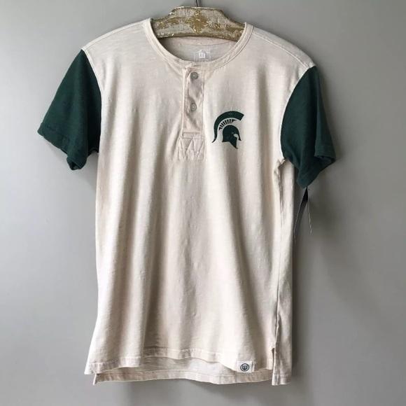 buy online 3fd0b 29e65 Michigan State University T-Shirt Boys Size L New